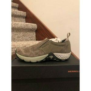 Merrell Womens Jungle Moc AC+ Olive Shoes Size 7 M
